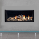 Apex Fires Cirrus X1 HE Frameless Hole in the Wall Inset Gas Fire