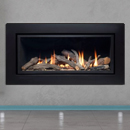 Apex Fires Cirrus X1 HE Hole in the Wall Inset Gas Fire