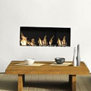 Apex Fires Liberty 4 Frameless Open Fronted Hole in the Wall Gas Fire