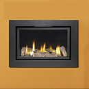 Apex Fires Cirrus X2 HE Hole in the Wall Inset Gas Fire