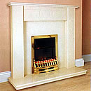 Aurora Corinthian Fireplace Surround