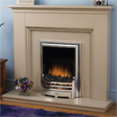 Beaucrest Fires Clermont Electric Freestanding Fireplace Suite