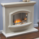 Beaucrest Fires Dubose Electric Freestanding Fireplace Suite