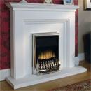 Beaucrest Fires Hickory Electric Fireplace Suite