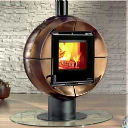 Broseley Fires Fireball Contemporary MultiFuel Stove