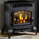 Burley Fires Ambience Flueless Freestanding Gas Stove 4121