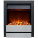 Burley Fires Wardley 176R-BL-SS Electric Inset Fire