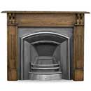Carron Fires Earlswood 55 Solid Oak Surround