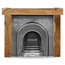 Carron Fires New York 52 Solid Acacia Surround