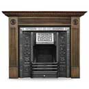 Carron Fires Portland 56 Solid Oak Surround