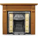 Carron Fires Wicklow 54 Solid Pine Surround