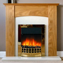 Delta Fireplaces Aston Electric Freestanding Suite