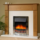 Delta Fireplaces Backford Electric Freestanding Suite