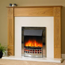 Delta Fireplaces Bullseye Electric Suite