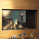 Dru Fire Cosmo Tunnel Slimline Balanced Flue Gas