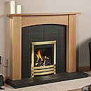 Europa Camerillo Solid Oak Fireplace Surround