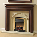 Europa Miramar Solid Mahogany Fireplace Surround
