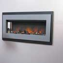 Flamerite Fire Omni Argento Electric Fire