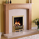 Orial Fires Ballantrae Wooden Surround