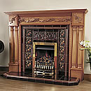 OER Fireplaces Monarch 61 Solid Oak Surround