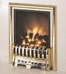 Verine Fires Quasar Powerflue Rear Vent Gas