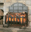 Burley Fires Lyddington Forge Electric Basket Fire