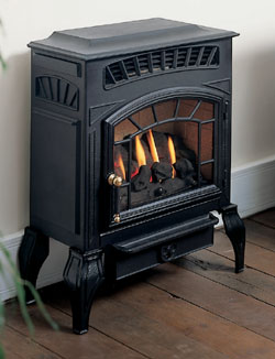 Burley Fires Esteem 4221 Coal Flueless Freestanding Gas Stove