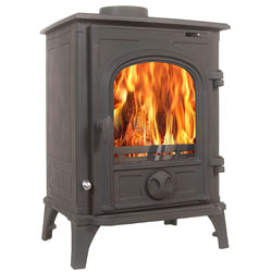 Alpine Stoves Elbrus Multifuel Wood Burning Stove