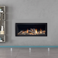 Apex Fires Cirrus X1 He Frameless Hole In The Wall Gas Fire