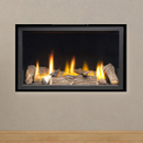 Apex Fires Cirrus X2 HE Frameless Hole in the Wall Inset Gas Fire