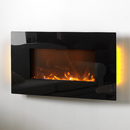 Apex Fires Havana Flat Hang on the Wall black Electric Fire