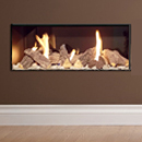 Apex Fires Liberty 6 Frameless Open Fronted Hole in the Wall Gas Fire