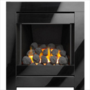 Apex Fires Lux Glass Full Depth Hearth Mounted Inset Gas Fire