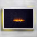Apex Fires Select Scene Hang On Wall Electric Fire
