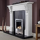 Aurora Fiori Fireplace Surround