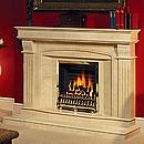 Aurora Marquis Marble Fireplace Surround