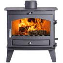 Avalon Stoves 8 Slimline Multi Fuel Wood Burning Stove