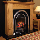 Beaucrest Fires Brenham Electric Freestanding Fireplace Suite