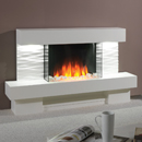 Beaucrest Fires Calvino Freestanding Electric Suite