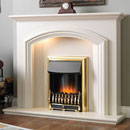 Flamerite Fires Dalton Electric Freestanding Fireplace Suite