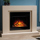 Beaucrest Fires Gravity Electric Freestanding Fireplace Suite
