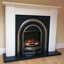 Beaucrest Fires Heaton Electric Freestanding Fireplace Suite