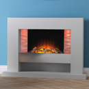 Beaucrest Fires Illusion Freestanding Electric Suite