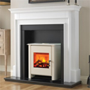 Beaucrest Fires Jewel Freestanding Stove Electric Fireplace Suite