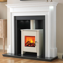 Beaucrest Fires Jewel Recessed Stove Electric Fireplace Suite