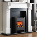 Beaucrest Fires Romney 48 Freestanding Stove Electric Fireplace Suite