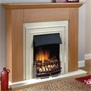 Beaucrest Fires Rowlett Electric Freestanding Fireplace Suite