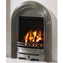 Be modern abbey polished gas fire cheapest online prices for Modern gas fireplace price