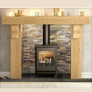 Be modern Fires Elicott Solid Oak Surround