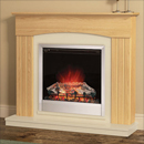 Be modern Fires Linmere Oak Electric Suite